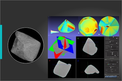 Oxygen X-Ray Tomography